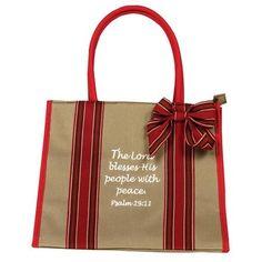 Love this scripture bag!