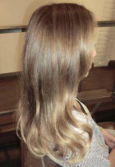 natural light brown hair