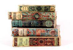 detournementsmineurs:  Inexpensive editions of popular Victorian novels.