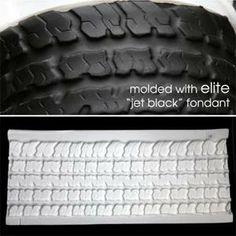 Fondant Tire Mold
