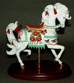 Lenox 2005 Christmas Carousel Horse