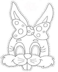 40 moldes de orelhas de coelho e máscaras de coelho para a Páscoa! - ESPAÇO EDUCAR