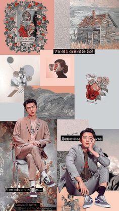 exo-sc in we young. Kpop Exo, Kyungsoo, Exo Chanyeol, Foto Sehun, K Pop Wallpaper, Wallpaper Quotes, Chen, Sehun Cute, Wallpaper Aesthetic