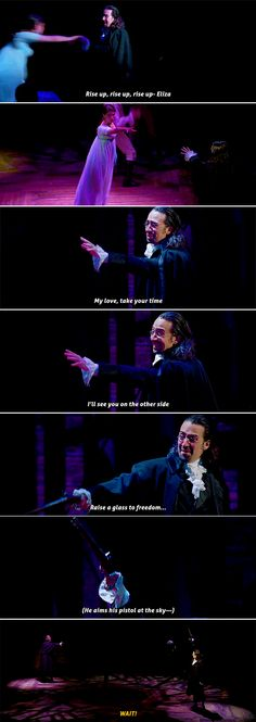 Teach me how to say goodbye #hamilton