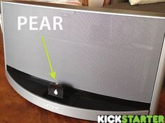 Pear - Bluetooth® to your Speaker's dock $40