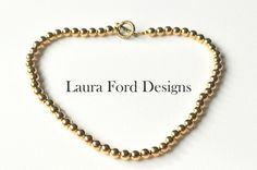 Simply Chic Necklace 18k Gold Plated by LauraFordDesigns on Etsy, $59.00