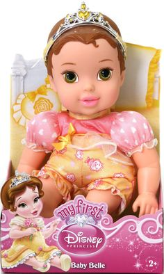 My First Disney Princess Baby Doll - Belle #toys #dolls #PrincessBabyDoll #DisneyPrincess #Belle