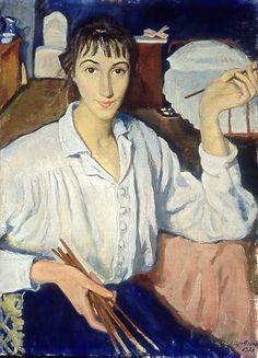 Zinaida Serebriakova - Self-portrait (1921)