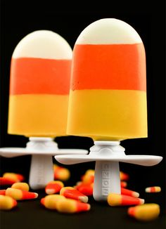 Ha -- candy corn is a fall favorite around here, wonder what the Zoku version tastes like?? Will have to try it & see.