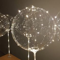 LED clear balloons for table pack all inclusive kit no helium required-great for wedding parties, bachelorette, Clear Balloons, Bubble Balloons, Helium Balloons, Transparent Balloons, Engagement Party Decorations, Balloon Decorations, Table Decorations, Formal Party Decorations, Masquerade Decorations