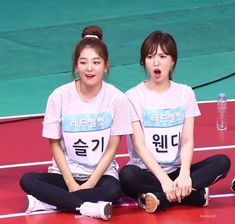 Red Velvet- Seulgi and Wendy Red Velvet Smtown, Exo Red Velvet, Wendy Red Velvet, Red Velvet Seulgi, Kpop Girl Groups, Korean Girl Groups, Kpop Girls, 2ne1, Girls Generation