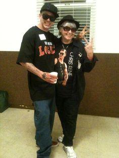 Chris & Mama Rene <3