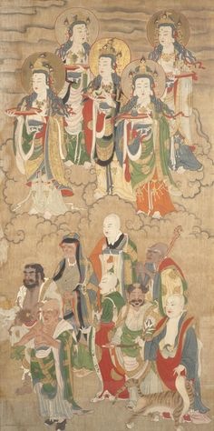 Buddhist Painting Made in China ca. 1644-1911
