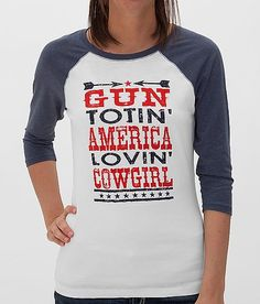 Cowgirl Justice American Lovin' Cowgirl Top