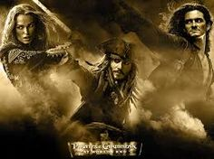 Pirates of the Carribean; The Trio, Keira Knightly, Johnny Depp, Orlando Bloom