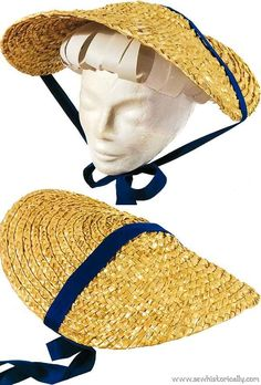 How To Make A Straw Hat From Scratch Wheat Straw, Two Braids, Historical Women, Plaits, Historical Costume, Hair Pieces, Pretty Dresses, Grass, Two By Two