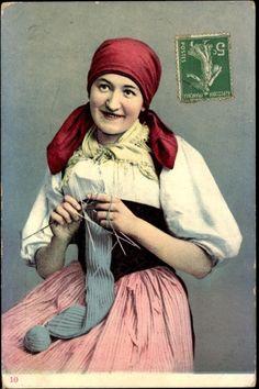Swiss knitter