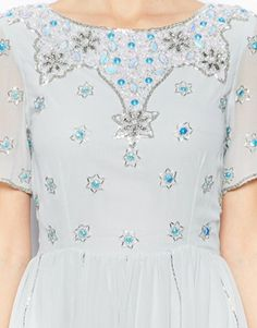 Image 3 of Frock and Frill Embellished Skater Dress #TopshopPromQueen