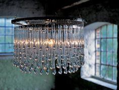 Les mer om flotte lysekroner ved å klikke deg videre til artikkel. Foto: www.within4walls.co.uk