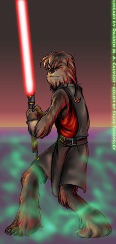 Sith Wookie-Darth Lumpawarump by scruffyzero.deviantart.com on @deviantART