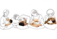 Breastfeeding positions and tips