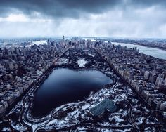 Central Park from above by Paul Seibert @pseibertphoto | via newyorkcityfeelings.com - The Best Photos and Videos of New York City including the Statue of Liberty Brooklyn Bridge Central Park Empire State Building Chrysler Building and other popular New York places and attractions.