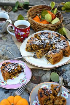Gluten Free Pumpkin Chocolate Chip Cake | FamilyFreshCooking.com