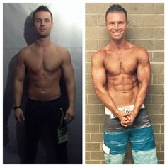 So here is another example of what out program can help you accomplish!! Check out Chris's incredible muscle transformation!!  He went from 12% body fat to 5.2% in 5 weeks!!!!!  There is nothing better than looking and feeling heathy!!!