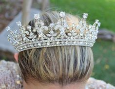 Bridal Tiara QUEEN MARYRoyal Bridal Tiara by EdenLuxeBridal