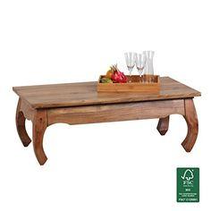 Tisch design holz  Casa Padrino Massivholz Esstisch Vintage Teakholz Recycled 120 cm ...