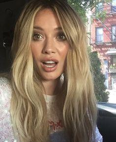 Hilary selfie