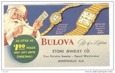 Santa Claus , BULOVA Watches , Christmas , 1920s Item number: 141592405  - Delcampe.com