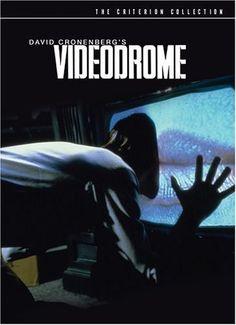 """Videodrome (1983) - http://www.imdb.com/title/tt0086541/  WATCH CHANNEL 83!   Who would watch Channel 83?   NORTH AMERICA!   It's """"SNUFF""""!"""