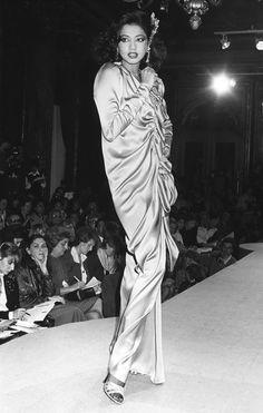 Janvier 1981. Haute couture été 1981. Photographie de Jean Luce Huré.