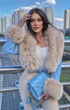 Fur Fashion, Fur Trim, Black Hair, Fur Coat, Winter Jackets, Furs, Angels, Therapy, Coats