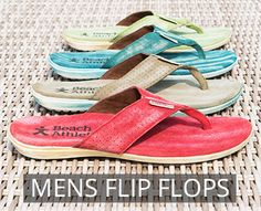 6eed9cd20df1 Beach Athletics Mens Suede Flip Flops and Beach Shoes Mens Flip Flops