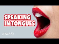 Speaking in Tongues, what does the Bible really say - UNLEARN the lies - YouTube