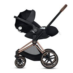 With the PRIAM, CYBEX offers a complete travel system to parents. One frame enables three different modes of use: as a travel system with matching carry cot or one of our award-winning CYBEX infant car seat, and later as a luxurious parent-facing o Cybex Priam, Rose Gold Frame, Sun Canopy, Adjustable Legs, Travel System, True Red, Malm, Matte Black, Baby Car Seats