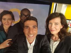 Avec Fabien Didier Yene, Hélène Crouzilat et Alice Mesnard.