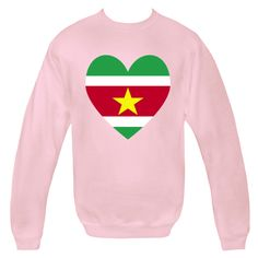 Fun design for Vlaenitne's Day or any special time shows a heart shaped Surinamese Flag, or Flag of the Republic of Suriname. Great for honoring and sharing love and pride in your ethnic heritage, ancestry and culture. Fun for world travelers, wanting to recall a vacation, trip, or holiday. $29.99 ink.flagnation.com