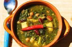 Jamaican Callaloo and Bean Soup #soup #Jamaican