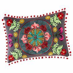 Cuscino multicolore in cotone 30 x 50 cm | Maisons du Monde