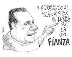 #Caricatura el Día jueves 17 de octubre del 2013, por Bonil.  Las noticias del día en: www.eluniverso.com