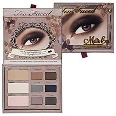 Too Faced Matte Eye Shadow Collection : Eye Sets & Palettes | Sephora