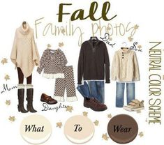 Fall Family Photos - What to Wear {Outfit Ideas} Fall Family Picture Outfits, Fall Family Photo Outfits, Spring Family Pictures, Family Portrait Outfits, Family Pictures What To Wear, Family Picture Colors, Winter Family Photos, Fall Family Portraits, Large Family Photos