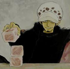 """Trafalgar D Water Law playing the """"End Game"""""""