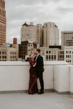 City Engagement Photos | Northern Native Photography | Detroit, MI
