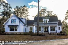 Modern Farmhouse Plan with Bonus Room - 51754HZ thumb - 05