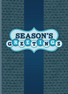 seasons greetings templates