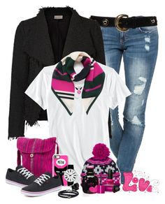 """""""Romping"""" by sugerpop ❤ liked on Polyvore featuring ESCADA, Horny Toad, NOVICA, Columbia, Vans, Yves Saint Laurent, Casetify, Rosendahl, Mulberry and Ippolita"""